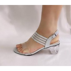 Golden Kello Silver Lined Sandal (Female) Shoes Size:37-42