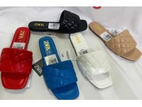 Zara Flat Female Heel Slipper. Size:37-41