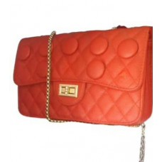 Women's Hand Bag Orange Colour