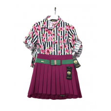 TURKEY SKIRT AND BLOUSE